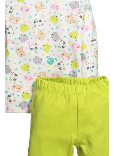 Zeyland Animals Pijama Takımı (1-4yaş) Animals Pijama Takımı (1-4yaş) Yeşil